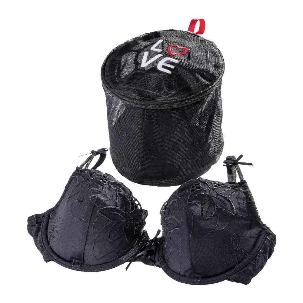 Čierna sieťka na pranie spodnej bielizne Wenko Love