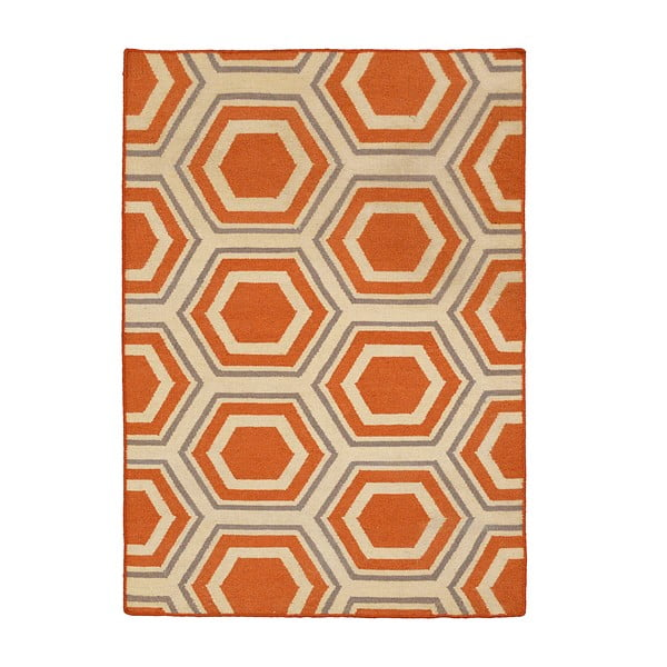 Ručne tkaný koberec Kilim JP 22, 90x150 cm
