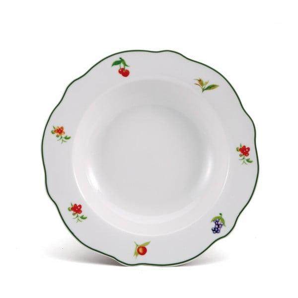Polievkový tanier Bergner Porcelain Lewes, 21,5cm