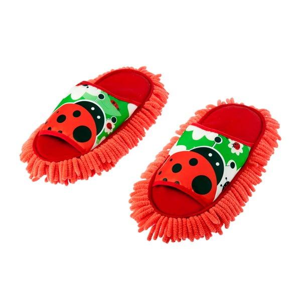 Papuče s prachovkou Lady Bug