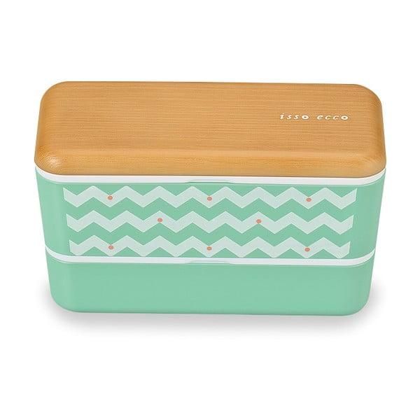 Desiatový box Joli Bento Wave Blue, 580ml