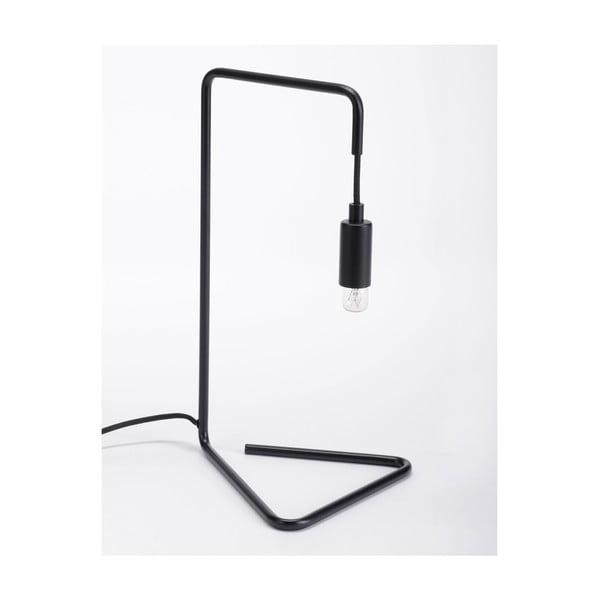 Čierna stolová lampa ComingB Bureau