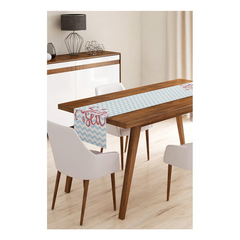 Behúň na stôl z mikrovlákna Minimalist Cushion Covers Sun&Sea, 45 × 145 cm