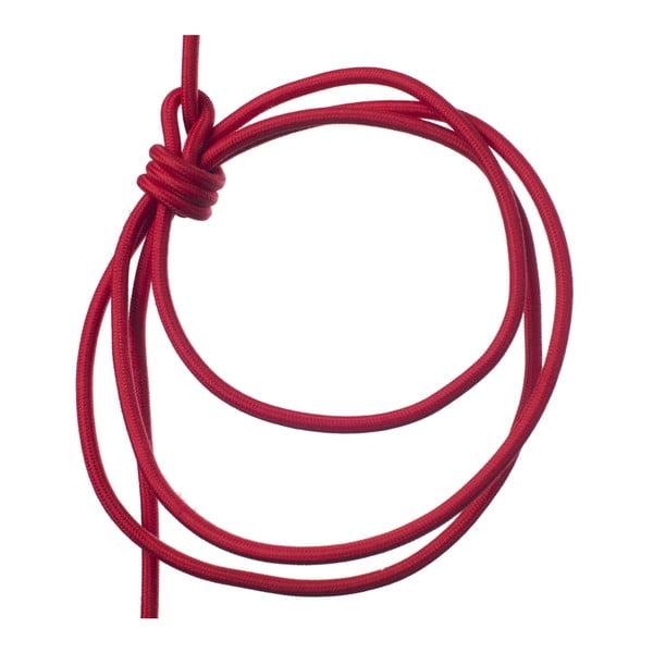 Červené svietidlo od Jakuba Velínského, 3 m