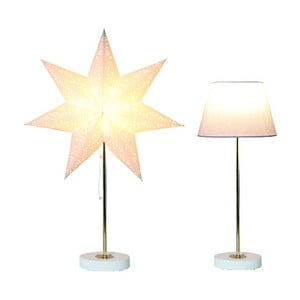 Set svietiacej lampy a hviezdy Best Season White