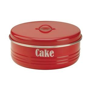 Červená dóza na koláč Typhoon Vintage