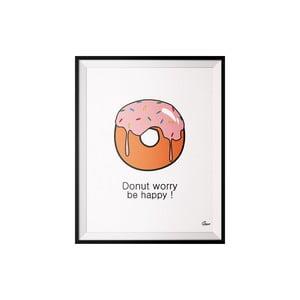 Plagát Donut, 40x50 cm