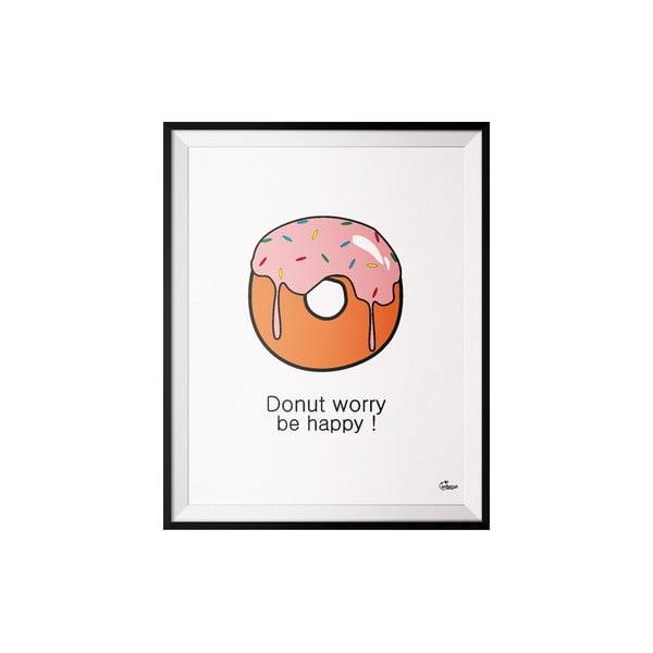 Plagát Donut, 50x70 cm