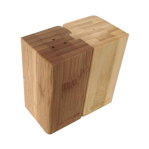 Bambusová soľnička a korenička Pozole