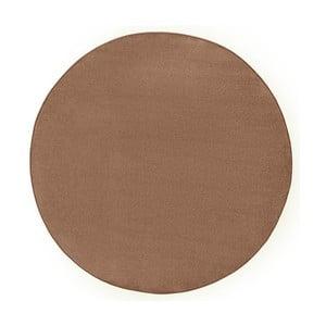 Hnedý koberec Hanse Home Fancy, ⌀ 133 cm