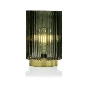 Zelená sklenená olejová LED lampa Versa Relax, ⌀15 cm