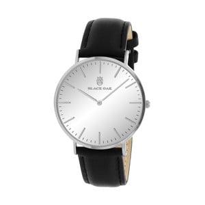 Čierno-strieborné dámske hodinky Black Oak Duplo