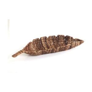 Prútená miska Leaf Tray, 68 cm