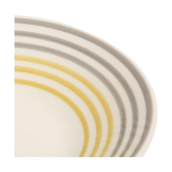 Sada 6 hlbokých tanierov Color Yellow 03