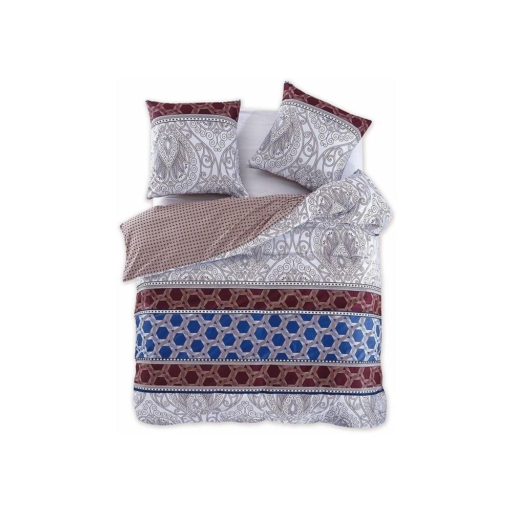 Obojstranné bavlnené obliečky na dvojlôžko DecoKing Diamond Portico, 200 × 220 cm