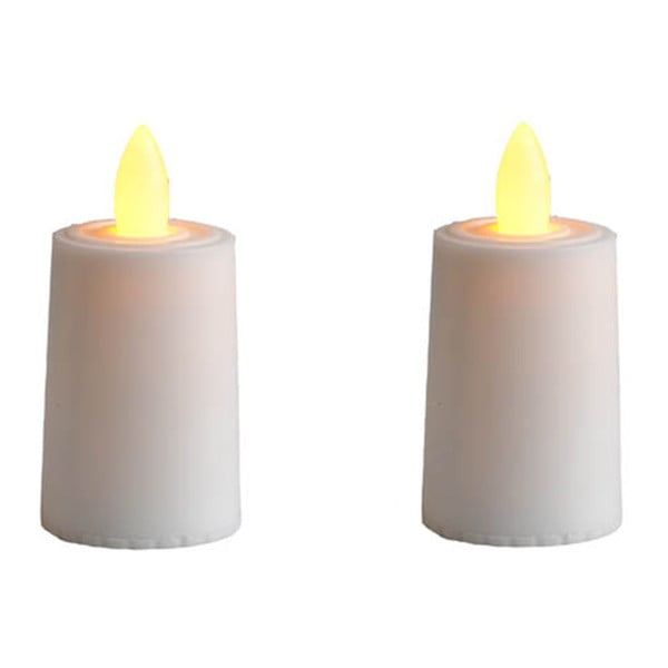 Sada 2 LED sviečok Candles