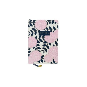Zápisník Tri-Coastal Design Navy Blush, ružový