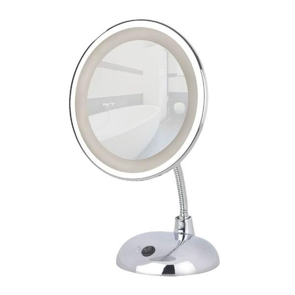 Zväčšovacie zrkadlo s LED svetlom Wenko Style