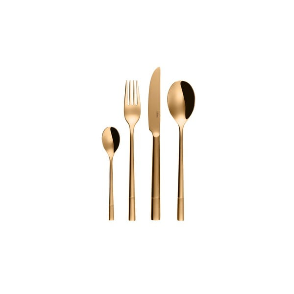 Sada 24 antikoro príborov Sola Luxus Gold