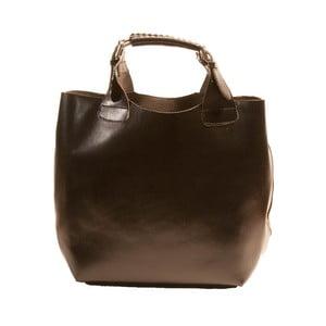 Čierna kabelka z pravej kože Andrea Cardone Edoardo