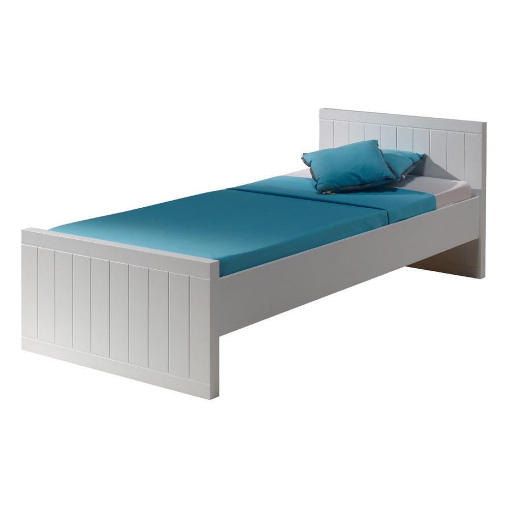 Biela detská posteľ Vipack Robin, 90 × 200 cm