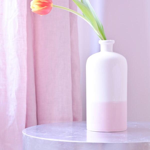 Béžovo-ružová váza Hawke&Thorn Parker