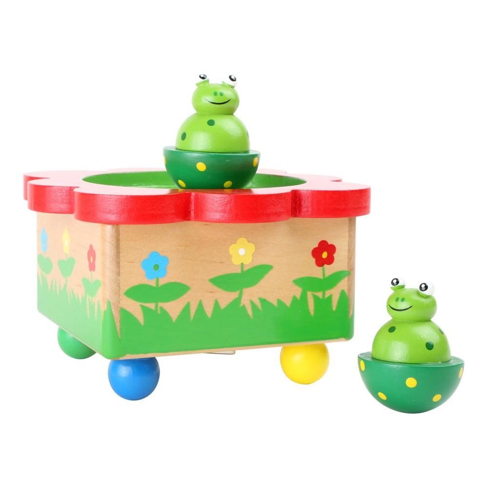 Drevená muzikálna hračka Legler Frog Pond