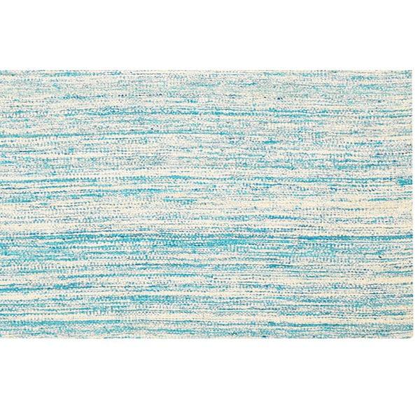 Ručne tkaný koberec Sari Silk Sky Blue, 150x240 cm