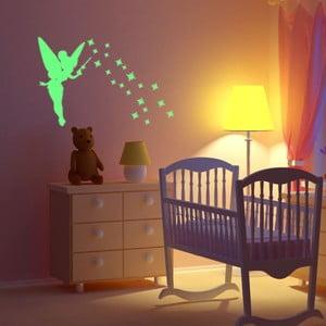 Svietiaca samolepka Fanastick Fairy With Stars