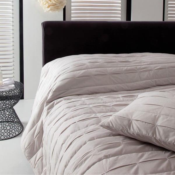 Prikrývka na posteľ Ritual Oyster, 270x270 cm