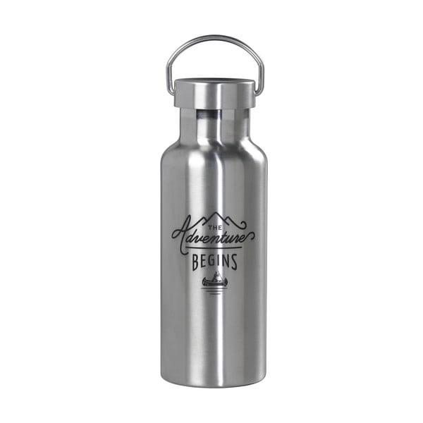 Fľaša na vodu z nehrdzavejúcej ocele Gentlemen's Hardware, 500 ml
