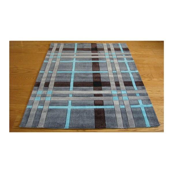 Koberec Weave, 80 x 150 cm, sivý