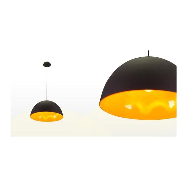 Stropné svetlo Outside Black / Orange