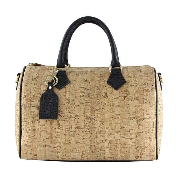 Čierna kožená taška Tori