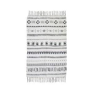 Čierno-biely bavlnený koberec HSM collection Colorful Living Manio, 60×90 cm