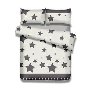 Sada bavlnenej obliečky na perinu a 2 obliečok na vankúše AmeliaHome Averi Starlight, 240×260 cm + 63×63 cm