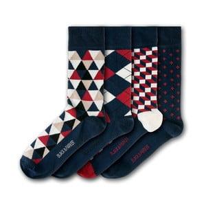 Sada 5 párov unisex ponožiek Black&Parker London Holker Hall, veľkosť 37 - 43