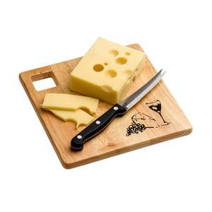 Set prkénka a nože na sýr Premier Housewares