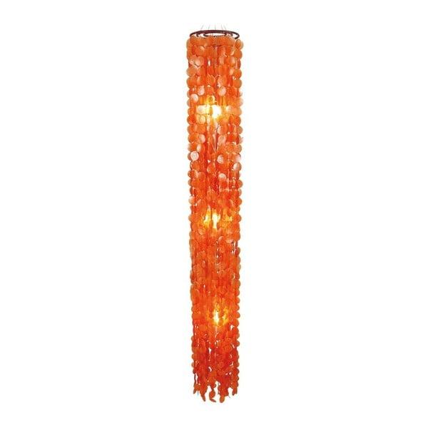 Oranžové stropné svetlo Naeve Spinnwebe