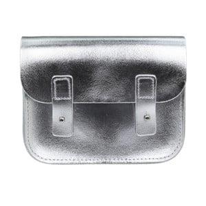 Kožená kabelka cez rameno Pensford Silver