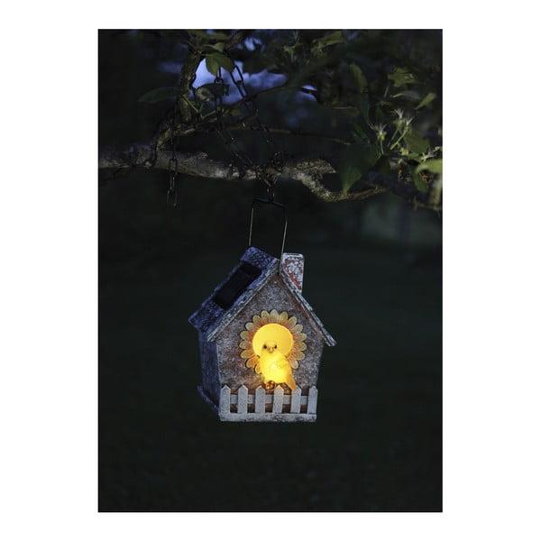 Záhradné svetlo Soilar Energy Bird House