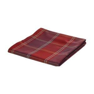 Červená žakárová deka Apolena Classic, 140 x 170 cm