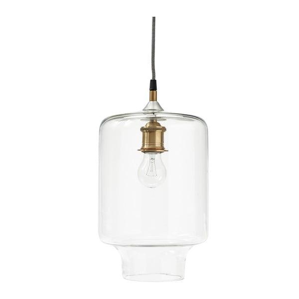 Sklenená stropná lampa Hübsch Azalea