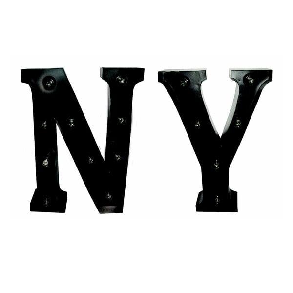 Svietiaci nápis NY