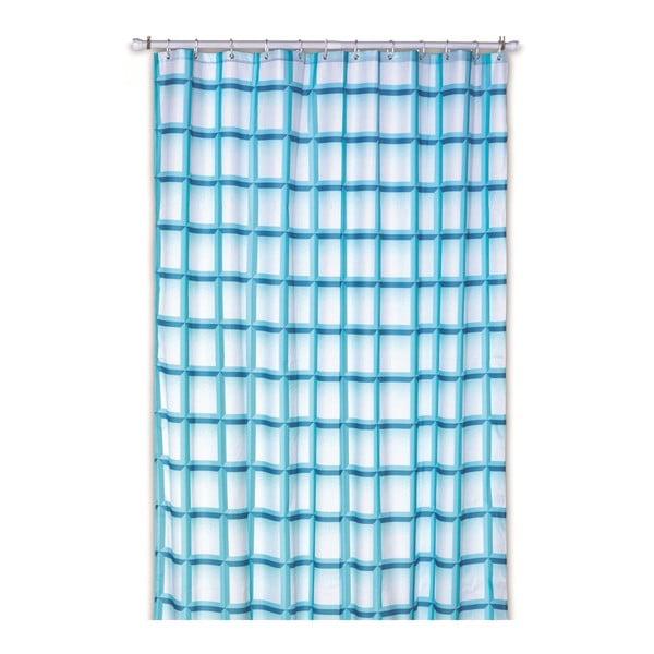 Sprchový záves Lamara, tyrkysový, 180x200 cm