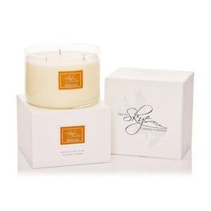 Sviečka s vôňou tea tree, cédrového dreva a pomaranča Skye Candles Wick, dĺžka horenia 30 hodín