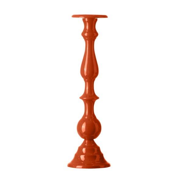 Stojan na sviečku Chunky Orange, 42 cm
