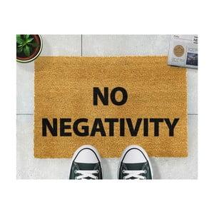 Rohožka Artsy Doormats No Negativity, 40x60cm