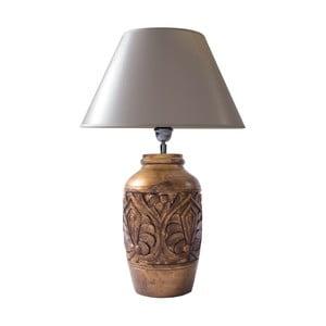 Stolová lampa Mango a hnedá