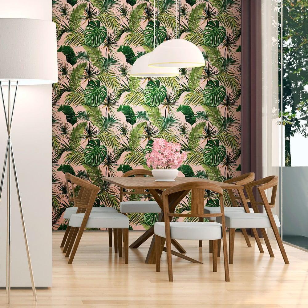 Dekoratívna samolepka na stenu Ambiance Exotic, 60 x 60 cm